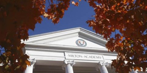 Welcome to Milton Academy